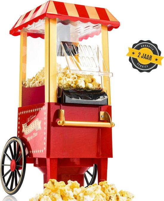 Gadgy® - Popcorn Machine - Klassieke Popcorn Maker - Rood
