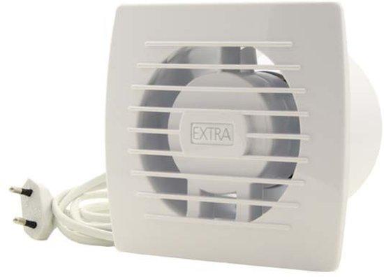 Waar Afzuiging Badkamer : Bol badkamer ventilator diameter mm wit trekkoord en