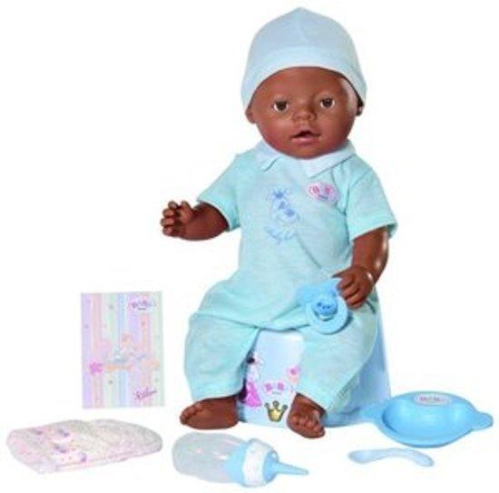 Bol Com Baby Born Interactieve Pop Met Donkere Huid