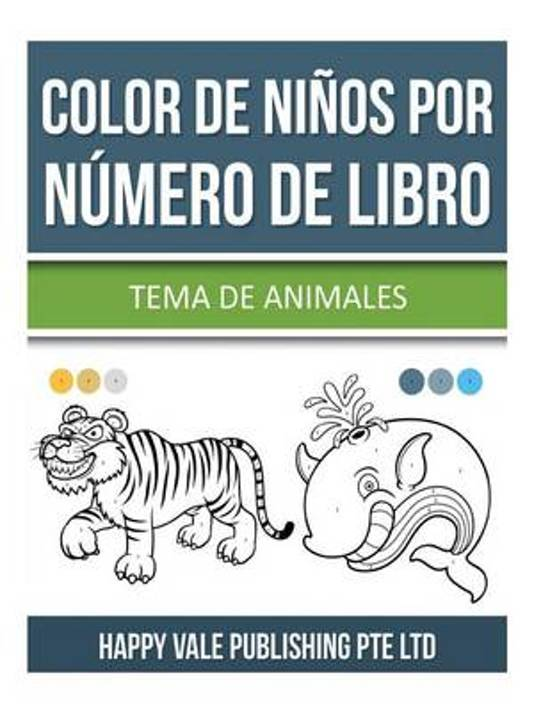 bol.com | Color de Ninos Por Numero de Libro, Happy Vale Publishing ...