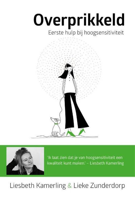 Boek cover Overprikkeld van Liesbeth Kamerling (Hardcover)