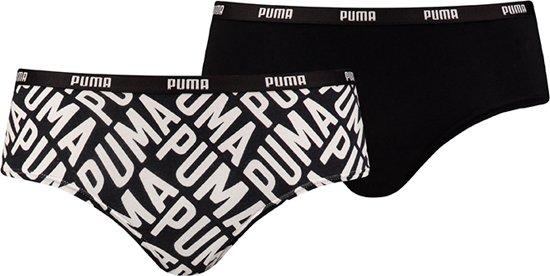 22f3b663636 bol.com | Puma - 2-Pack Modal Hipster Zwart Wit - L