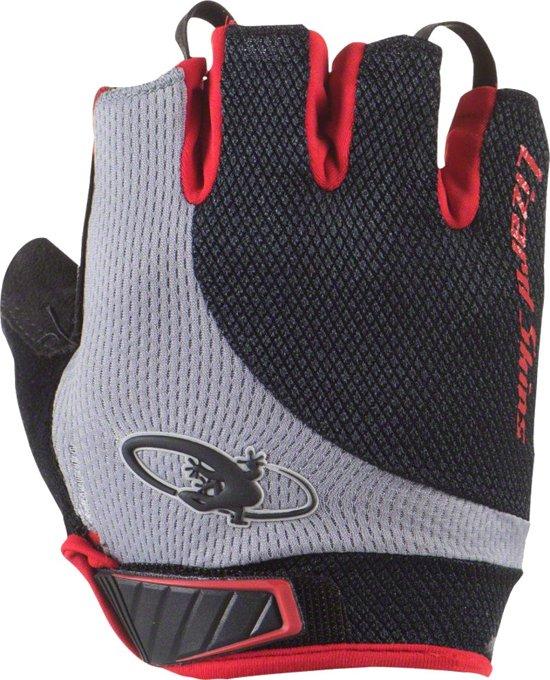 Lizard Skins Fietshandschoenen Aramus Elite Zwart/rood Maat 8