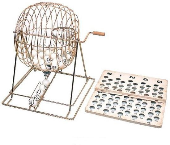 Afbeelding van het spel Longfield games Bingomolen van metaal
