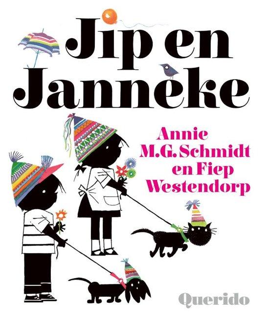 Boek cover Jip en Janneke van Annie M.G. Schmidt (Hardcover)