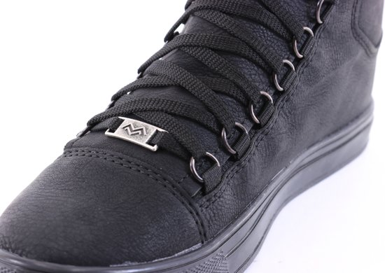 Hoog Van Half Zwart Sneakers Manzotti Heren wxzRHR