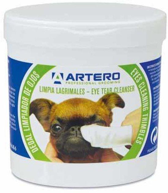 Artero - Vingerdoekjes - Voor het reinigen van de ogen van je hond - 50 stuks