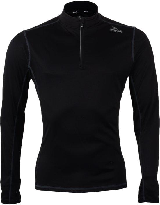 Rogelli Campton Sportshirt - Maat XL  - Mannen - zwart
