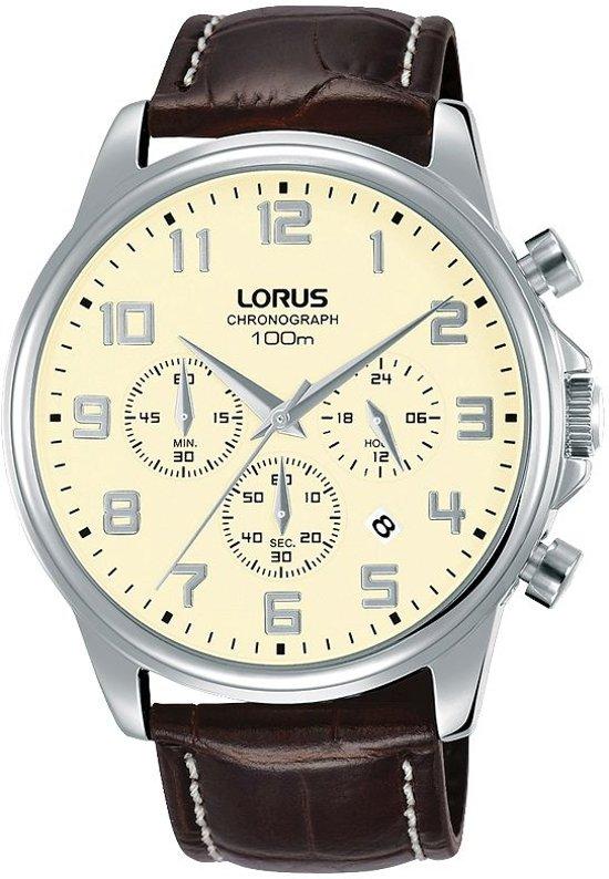 Lorus RT341GX9 horloge chronograaf - bruin - edelstaal