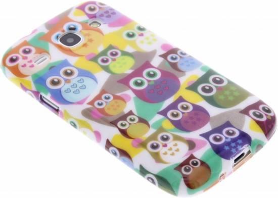 Hibou Conception Cas Flip Tpu Pour Samsung Galaxy S3 / Neo 69tndEgju