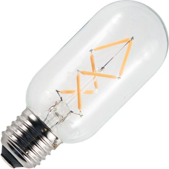SPL LED filament buislamp 3W grote fitting E27 45mm