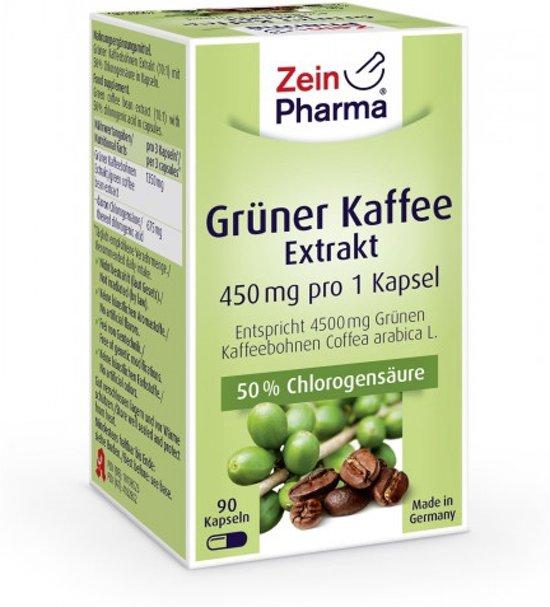 groene koffie capsules