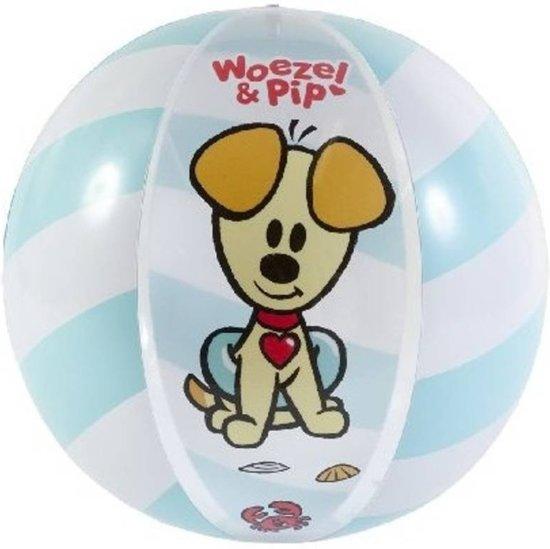 Rubo Toys Woezel En Pip Strandbal Diameter 50 Cm