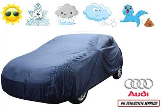 Autohoes Blauw Polyester Audi Q3 2012-