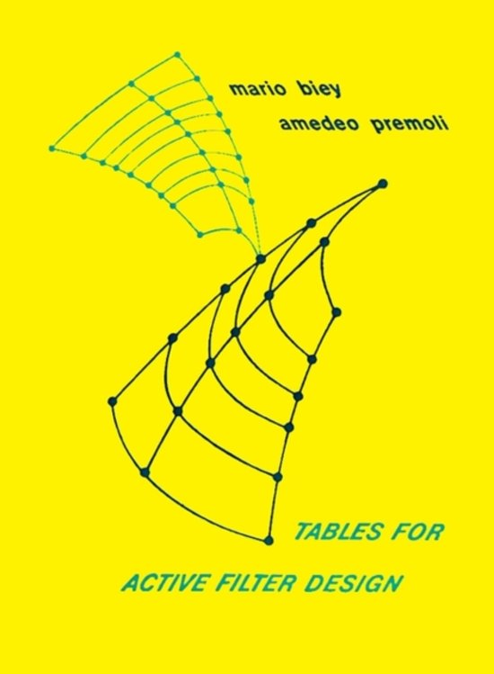 Tables for Active Filter Design