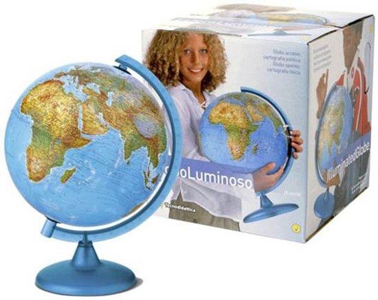 Wereldbol Met Licht : Bol wereldbol cm met verlichting merkloos speelgoed