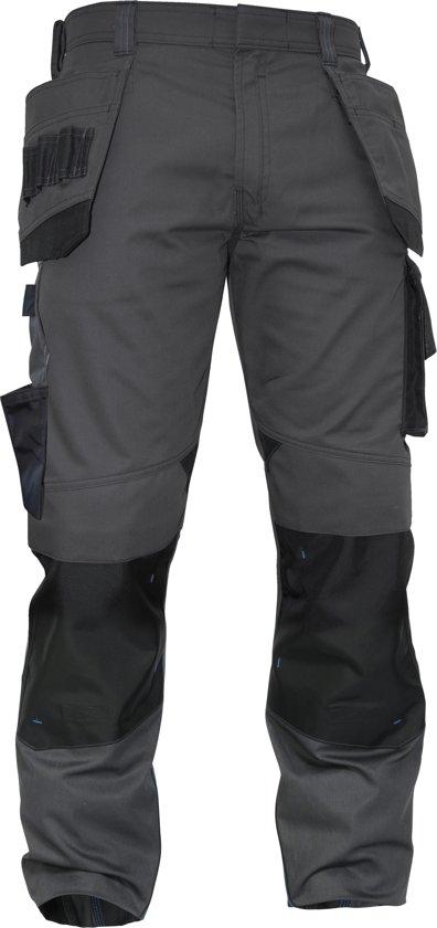 Werkbroeken met kniestukken Dassy MAGNETIC Werkbroek Grijs/ZwartNL:42 BE:36