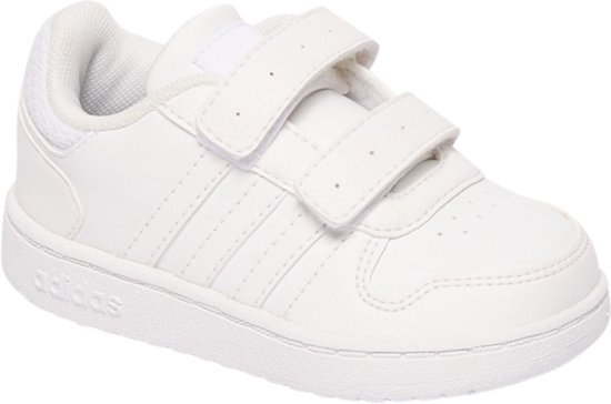 adidas Kinderen Witte Hoops 2.0 Maat 27