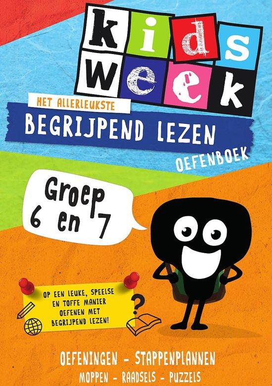 Extreem bol.com | Kidsweek - Het allerleukste begrijpend lezen oefenboek  @CU03