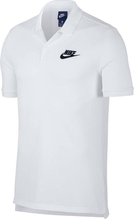 Nike Nsw Matchup Pq Sport Polo Heren - White/(Black) - Maat S