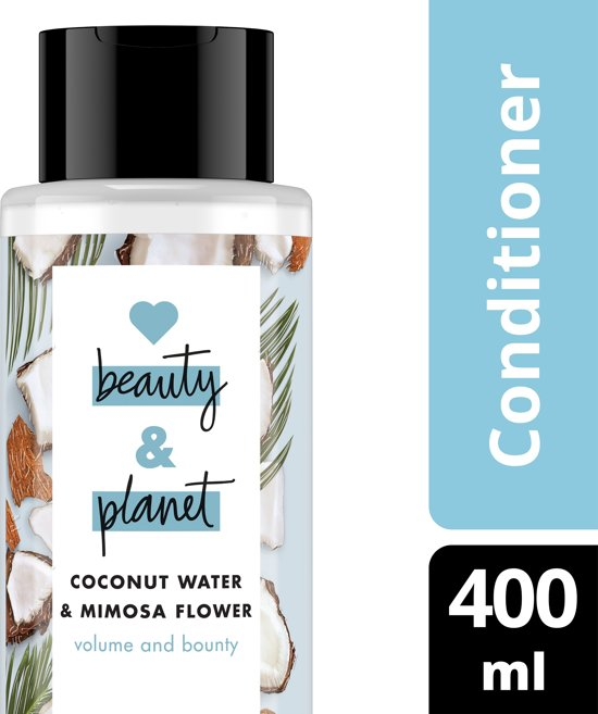 Love Beauty and Planet Volume and Bounty Coconut Water & Mimosa Flower Conditioner 400 ml