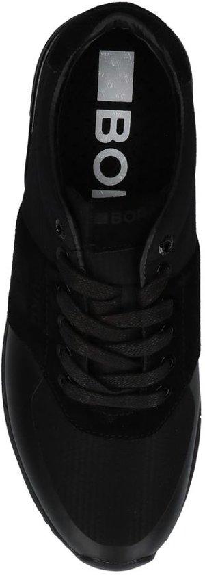 Heren Sneakers Bjorn Hex M Low Borg Maat R106 42 Zwart 77rvqw5x