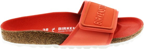 Birkenstock Tema Dames Slippers Small fit - Coral - Maat 41