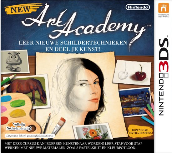 New Art Academy - 2DS + 3DS