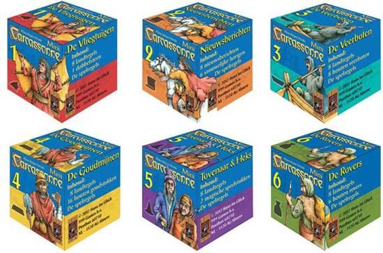 Thumbnail van een extra afbeelding van het spel Carcassonne: Mini Uitbreiding De Goudmijnen