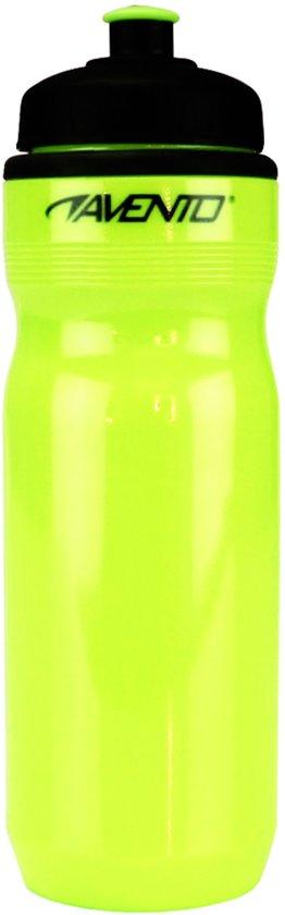 Avento Sportbidon - 0.7 Liter - Fluorgeel/Zwart - 0,70 L