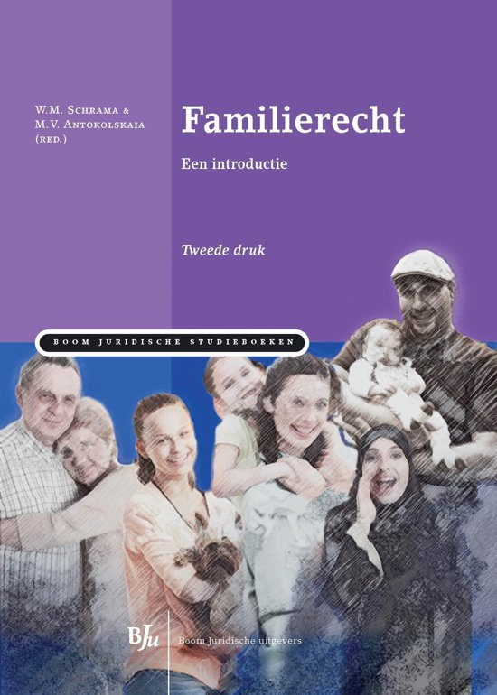 Boom Juridische studieboeken Familierecht