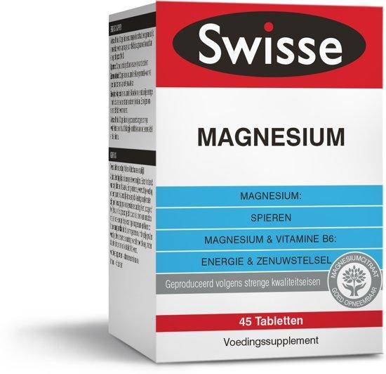 Swisse Magnesium - 45 tabletten - vitaminen