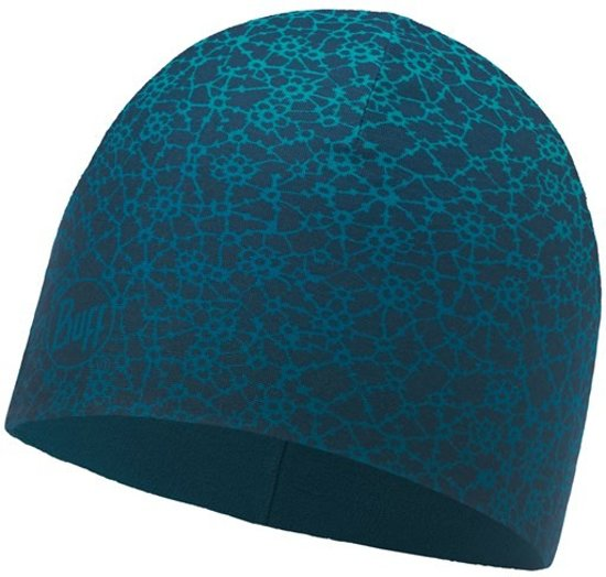 Microvezel & Polar Muts Buff® - Ivana Blue Capri