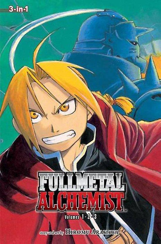 Fullmetal Alchemist (3-in-1 Edition), Vol. 1 - Hiromu Arakawa