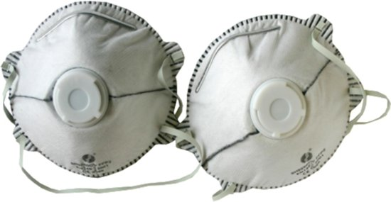 Skandia Stofmasker Carbon - P2 - 2 Stuks