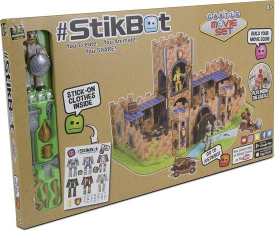 Afbeelding van het spel Stikbot Movie Set Castle