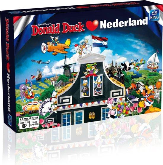 Bolcom Donald Duck Houdt Van Nederland Bordspel King