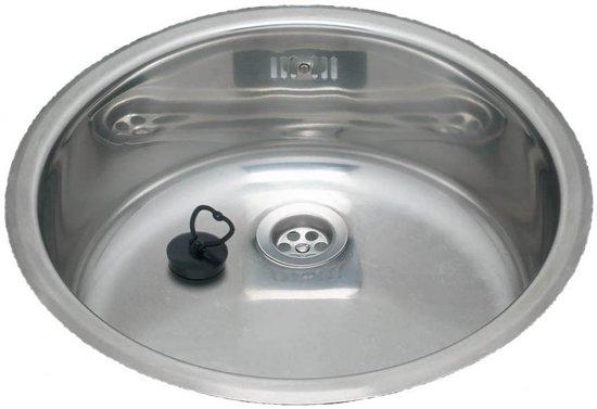 Wasbak Keuken Opbouw : Bol.com reginox spoelbak rond opbouw sbo 135