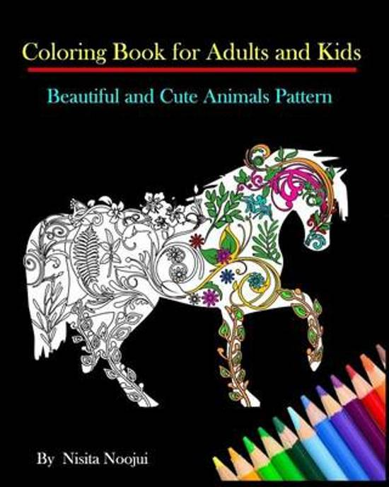 Coloring Book for Adults and Kids