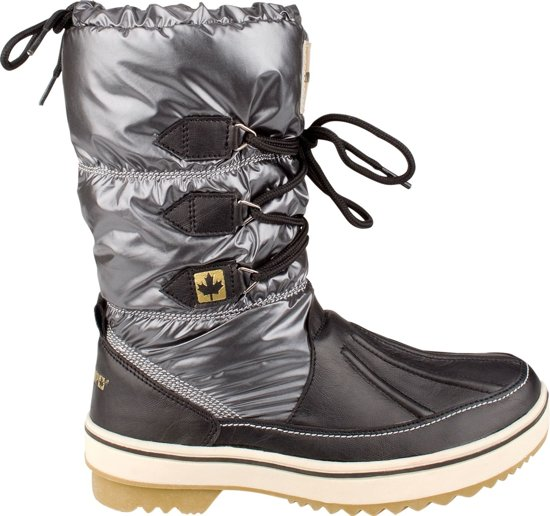 Winter-grip Snowboots Lace Up Brons Dames Maat 38