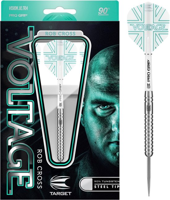 Target Steeltip Rob Cross Voltage 90% 23 gram Dartpijlen