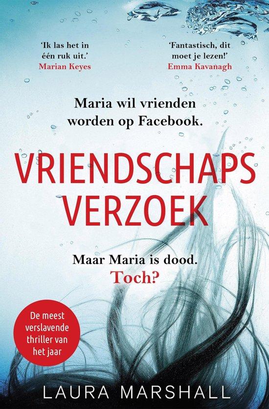 Boek cover Vriendschapsverzoek van Laura Marshall (Onbekend)