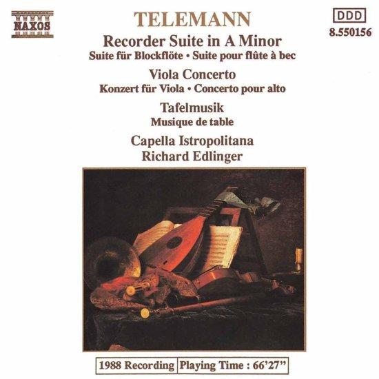 Telemann: Recorder Suite Etc.