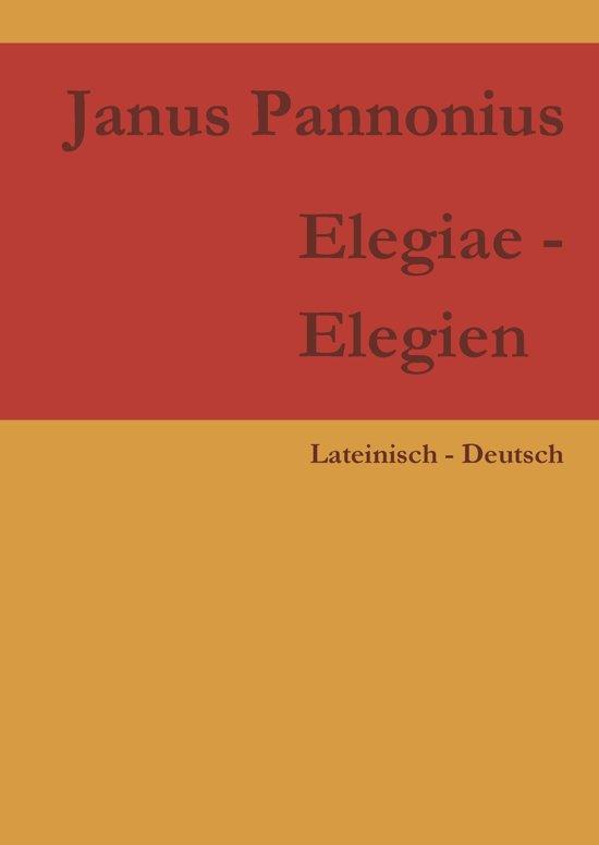 Elegiae - Elegien