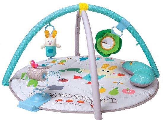 Afbeelding van Taf Toys Activiteitengym + buiklig kussen Garden Tummy afneembare bogen - 0 - 24 mnd speelgoed