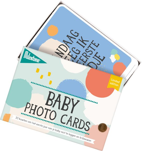 Milestone™ Baby Photo Cards - Cotton Candy