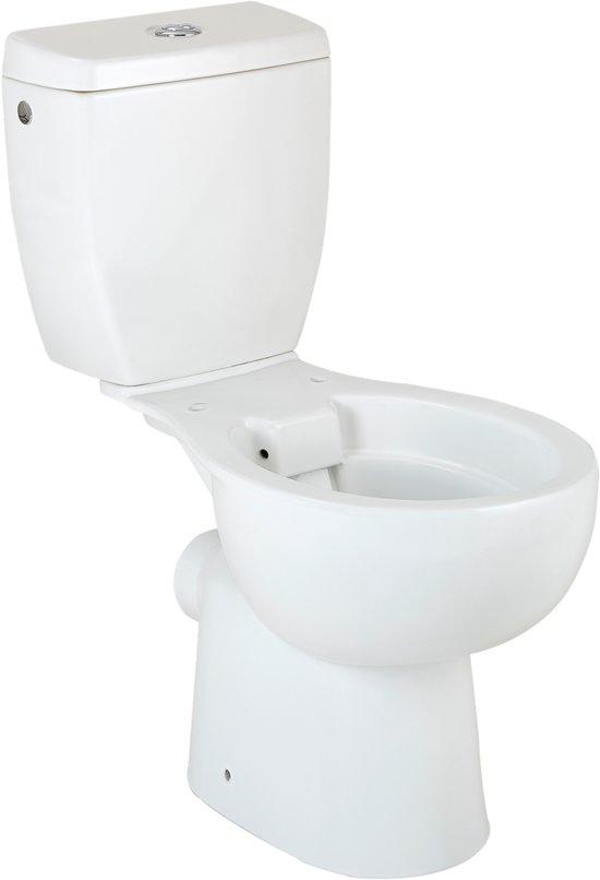 Staande Wc Pot Compleet.Kerra Hero Staand Toilet Zonder Spoelrand Met Reservoir