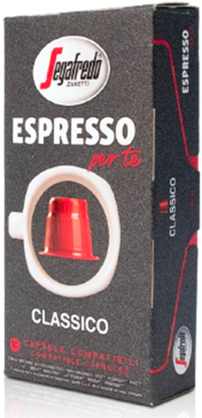 Segafredo Classico koffie capsules (Nespesso© Compatible) - 8 x 10 stuks