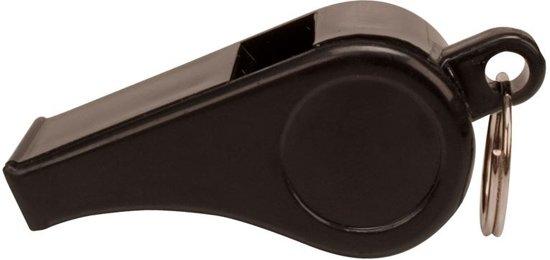 Scheidsrechtersfluit - Plastic - Zwart
