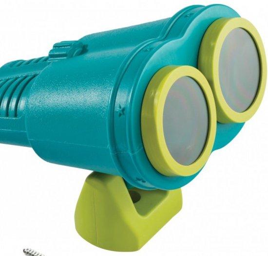 Verrekijker star - turquoise/limoen groen